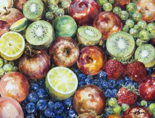 Fruits colors